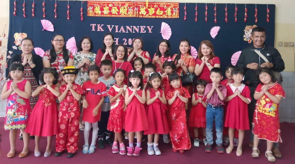 Imlek TK Vianney 2020