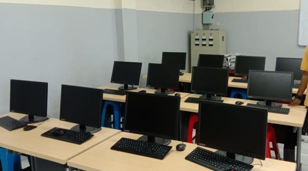 Laboratprium Komputer Sekolah Vianney TK SD 2020