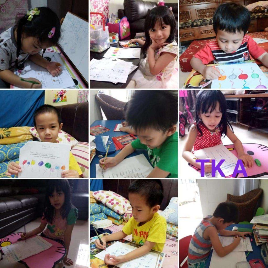 Learning From Home Tk Vianney Sekolah Vianney